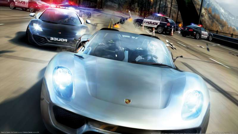 Need for Speed: Hot Pursuit Hintergrundbild 03