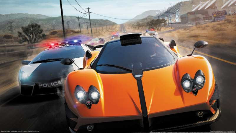 Need for Speed: Hot Pursuit Hintergrundbild 04