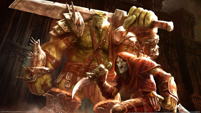 Of Orcs and Men Hintergrundbild 01