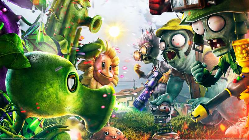 Plants vs. Zombies: Garden Warfare Hintergrundbild 01