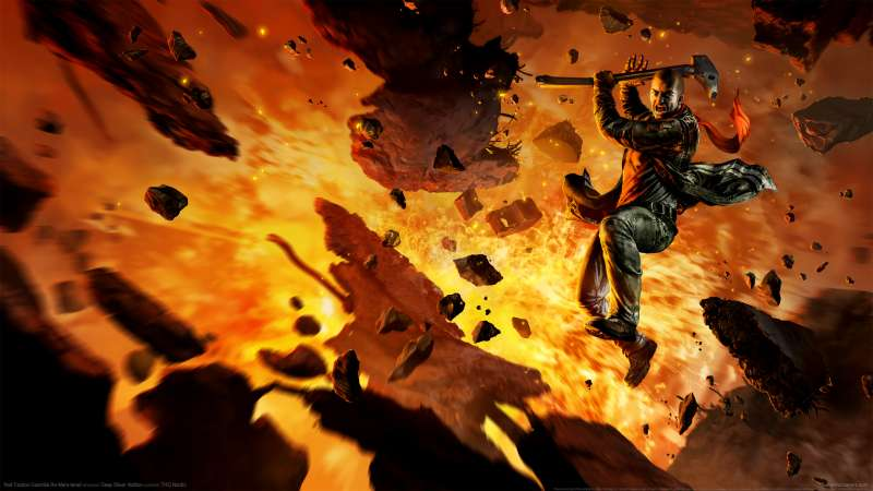 Red Faction: Guerrilla Re-Mars-tered Hintergrundbild 01