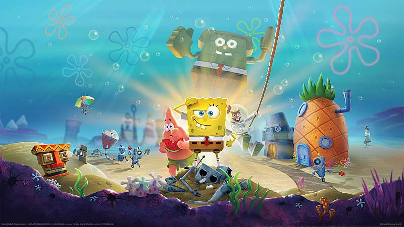 SpongeBob SquarePants: Battle for Bikini Bottom - Rehydrated Hintergrundbild