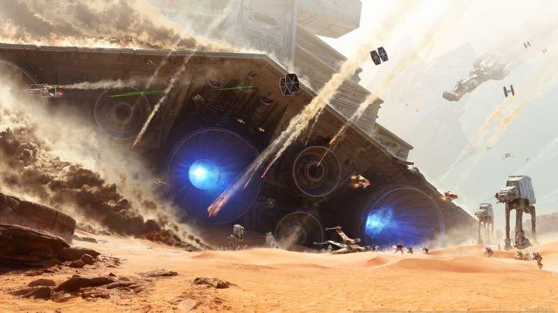 Star Wars Battlefront Desktop Hintergrundbilder