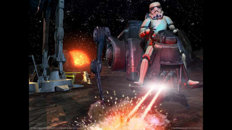 Star Wars: Galactic Battlegrounds Hintergrundbild 01