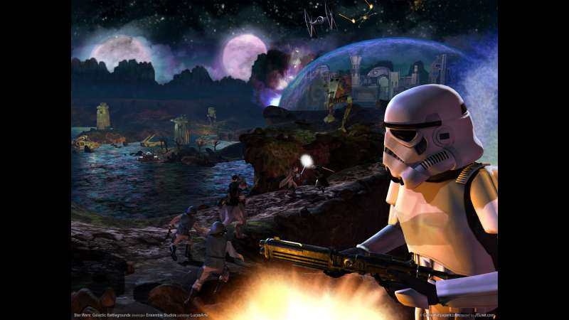 Star Wars: Galactic Battlegrounds Hintergrundbild 02