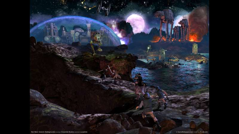 Star Wars: Galactic Battlegrounds Hintergrundbild 03