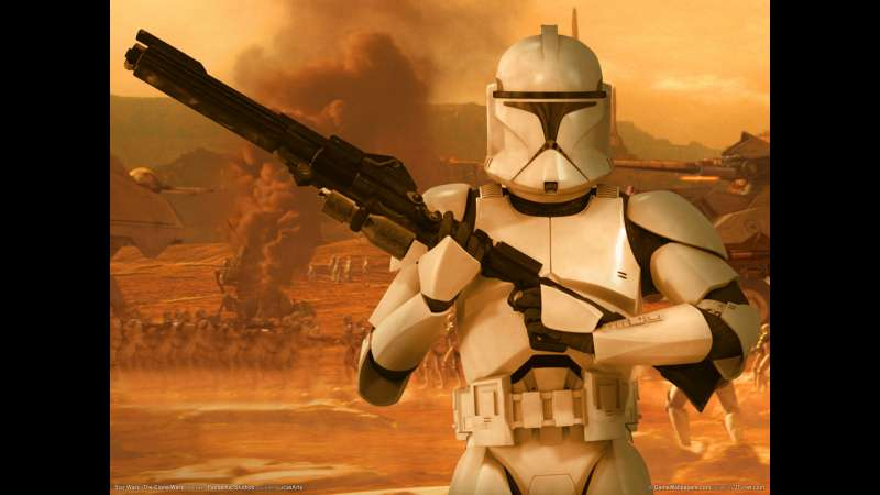 Star Wars: The Clone Wars Hintergrundbild 03