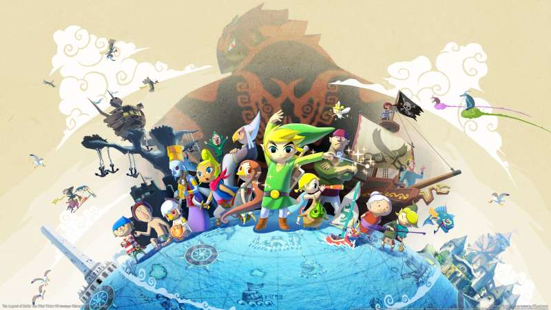 The Legend of Zelda: The Wind Waker HD Hintergrundbild