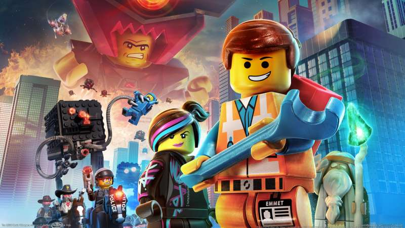 The LEGO Movie Videogame Hintergrundbild 01