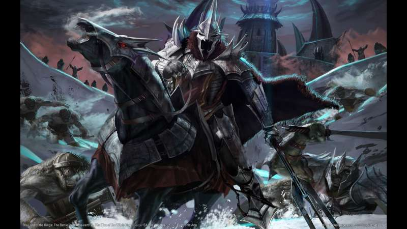 The Lord of the Rings: The Battle for Middle-earth 2 - The Rise of the Witch-king Hintergrundbild 01