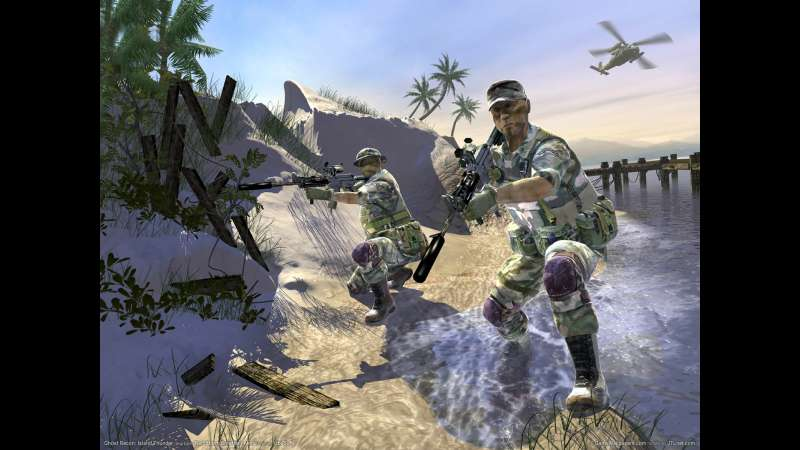 Tom Clancy's Ghost Recon: Island Thunder Hintergrundbild 01