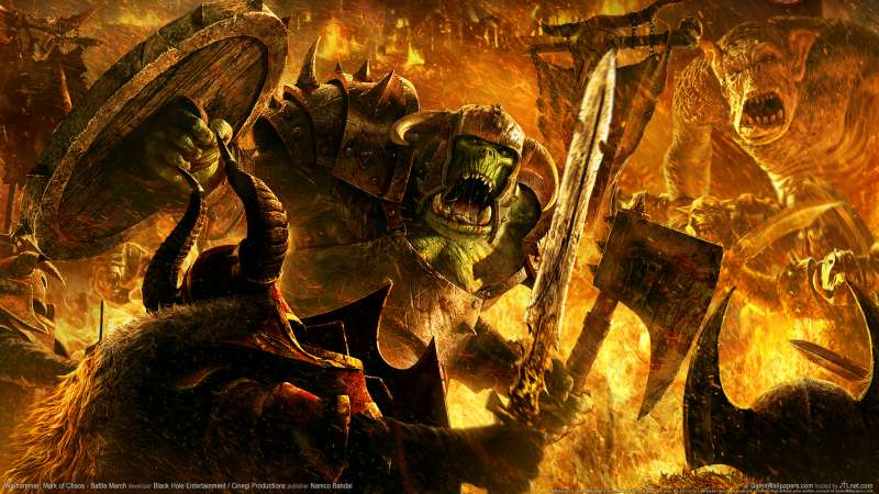 Warhammer: Mark of Chaos - Battle March Hintergrundbild