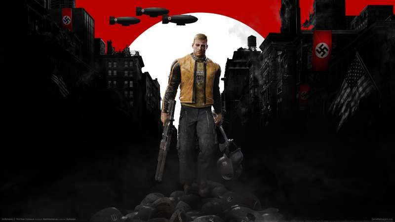 Wolfenstein 2: The New Colossus Hintergrundbild 01