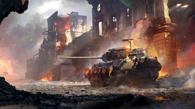 World of Tanks: Mercenaries Hintergrundbild