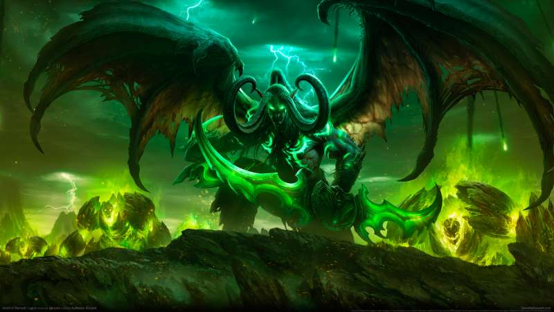 World of Warcraft: Legion Hintergrundbild
