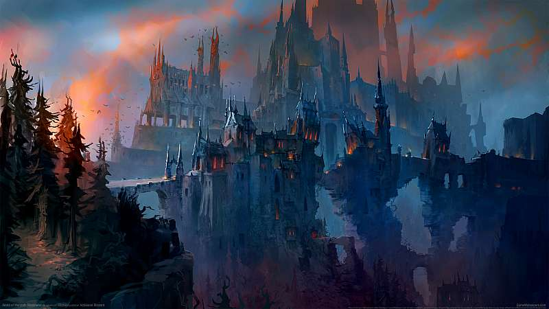 World of Warcraft: Shadowlands Hintergrundbild