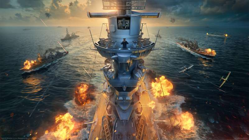 World of Warships Hintergrundbild